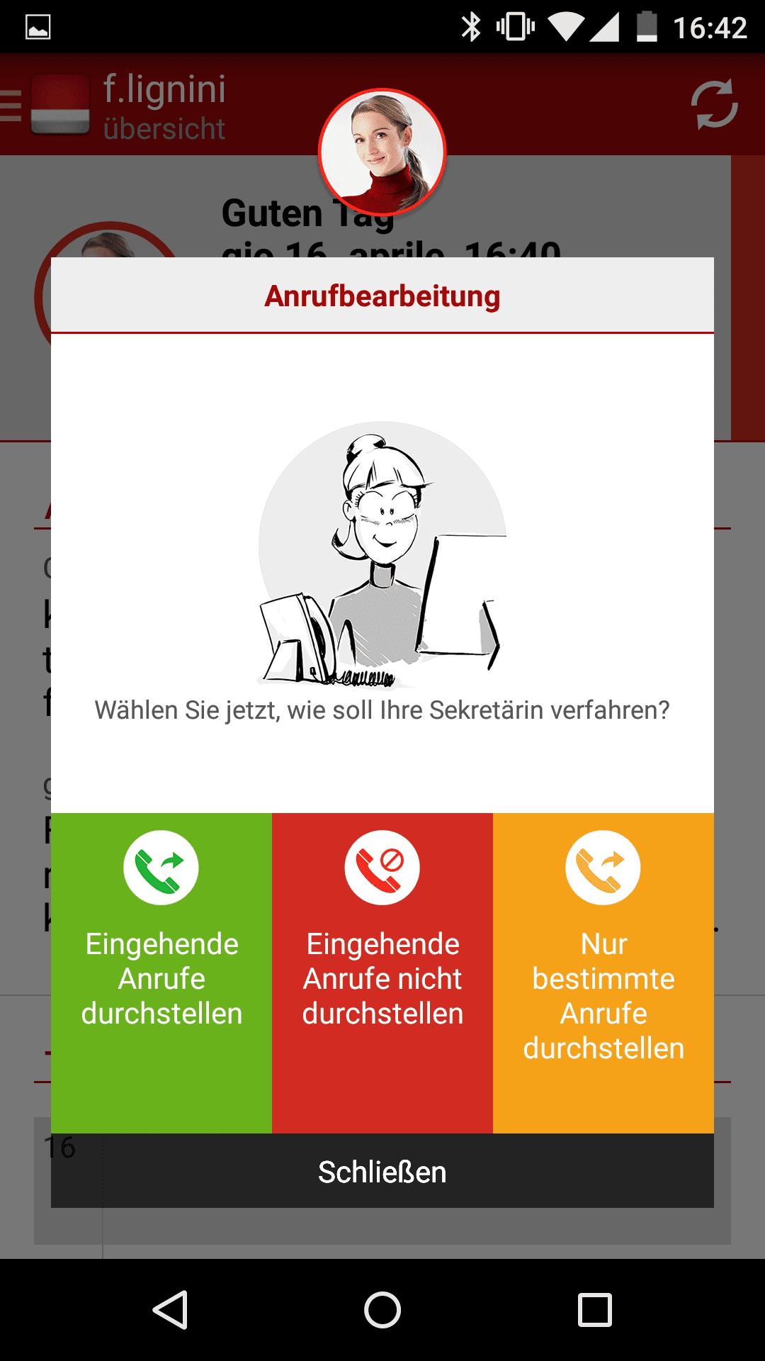 anrufe werden nicht durchgestellt