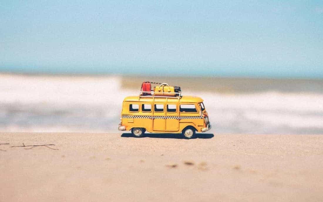 in den Urlaub